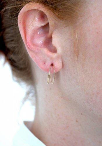 Susumi Studio 14k Double Hoop Earrings