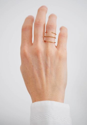 Susumi Studio 14k Split Band Ring