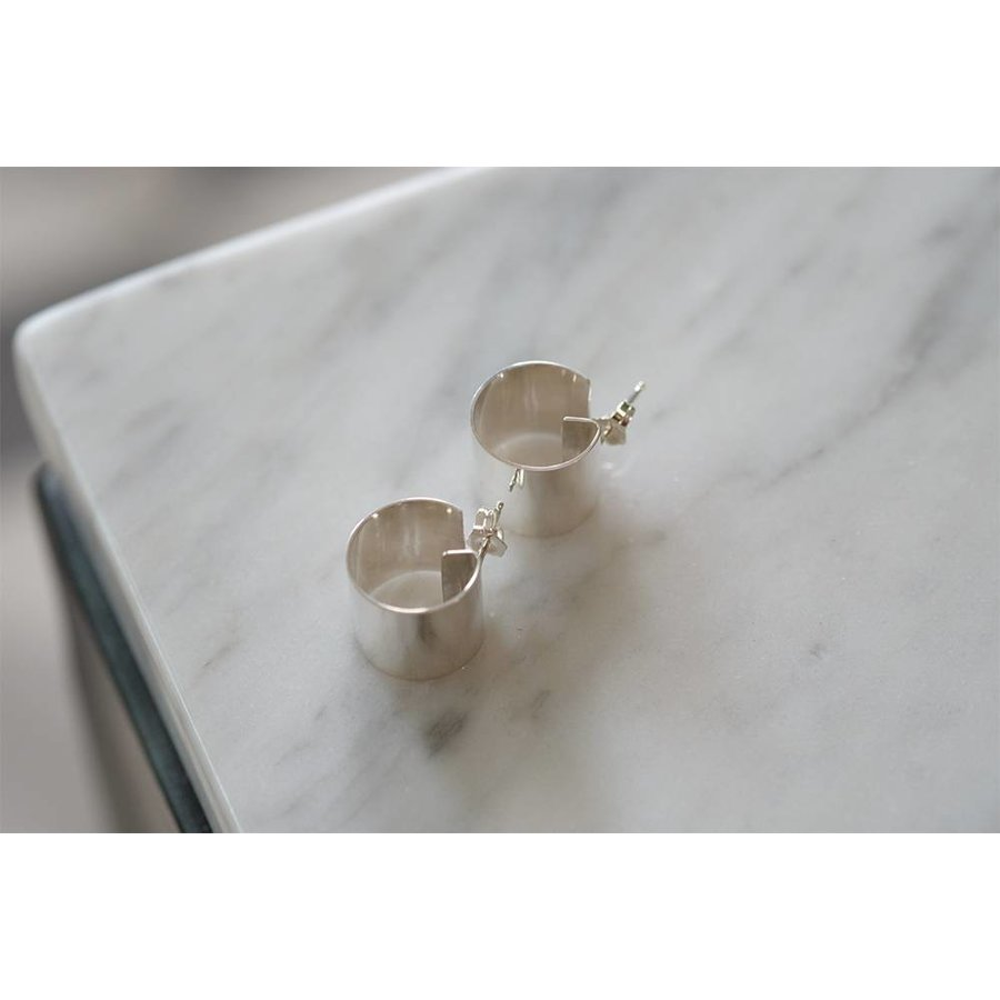 Armor Hoop Earrings