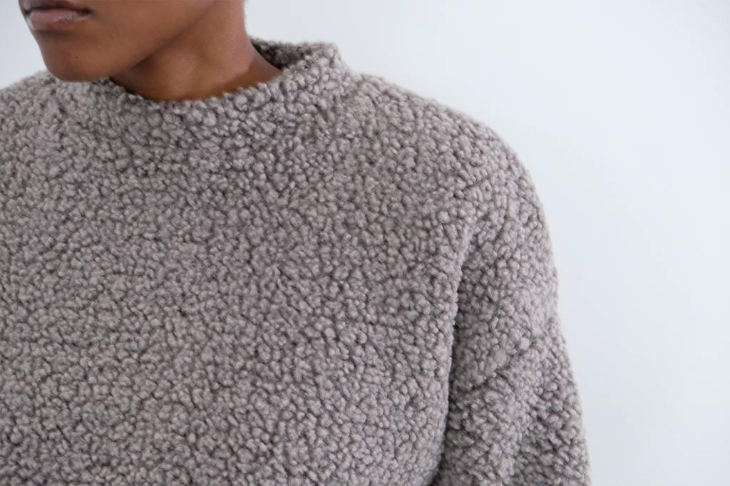 Bruna Teddy Bear Sweater Drama Club