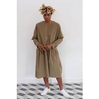 Kise Poplin Tie Option Dress