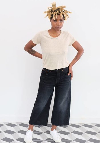Levi's High Water Wide Leg Jeans