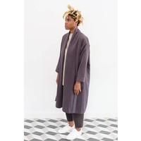 Angora Wool Robe Coat