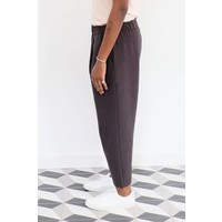 Tuck Cropped Easy Pants