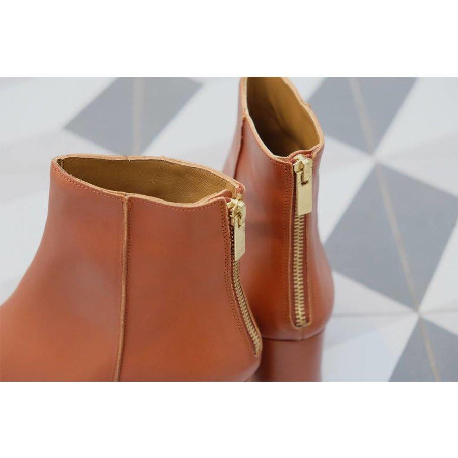 Mei Caramel Vacchetta Boot