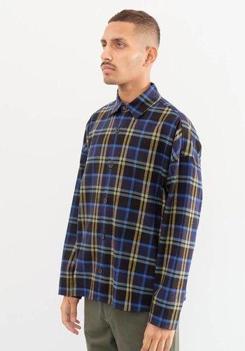 Gustav Von Aschenbach Boxy Plaid Flannel Shirt