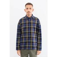 Boxy Plaid Flannel Shirt