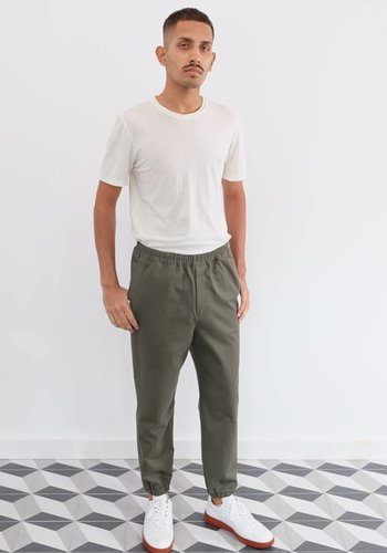 Gustav Von Aschenbach Washed Cotton Pant