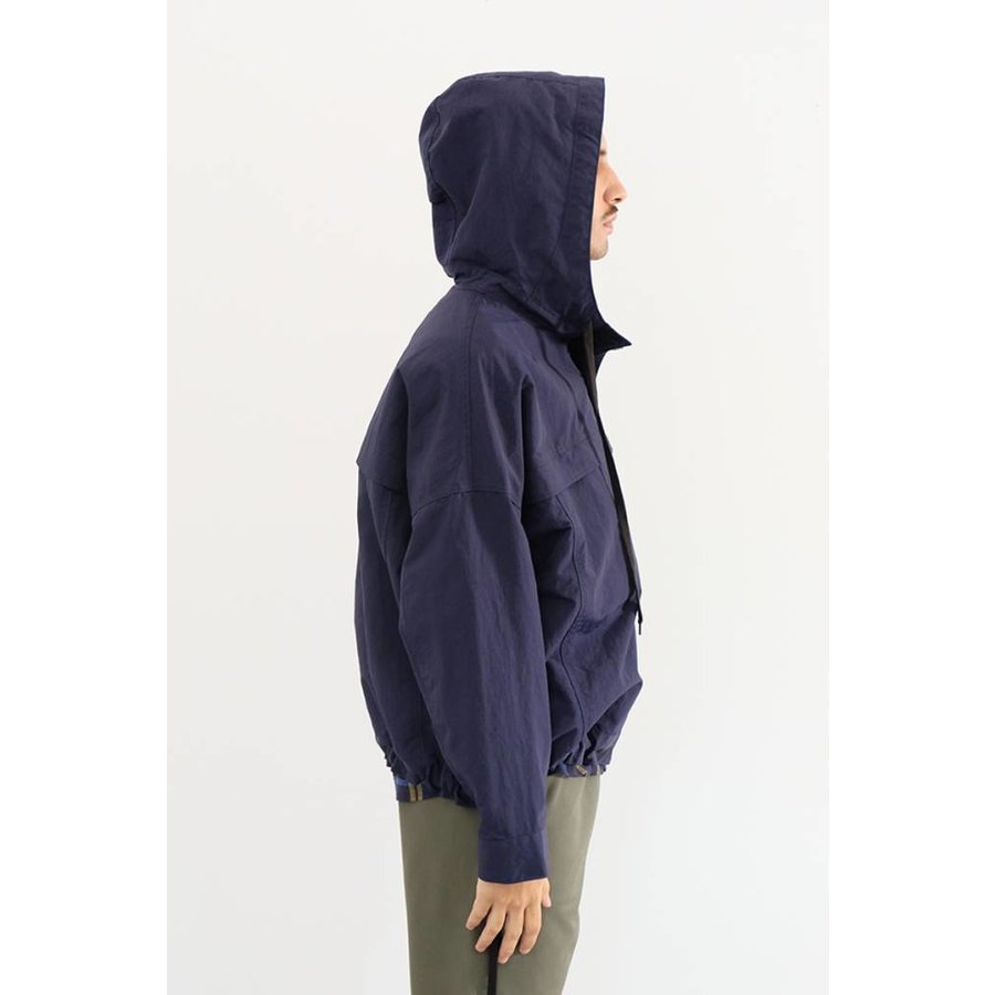 Nylon Hooded Anorak
