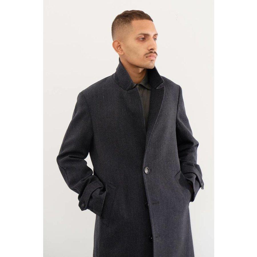 Rain Wool Top Coat
