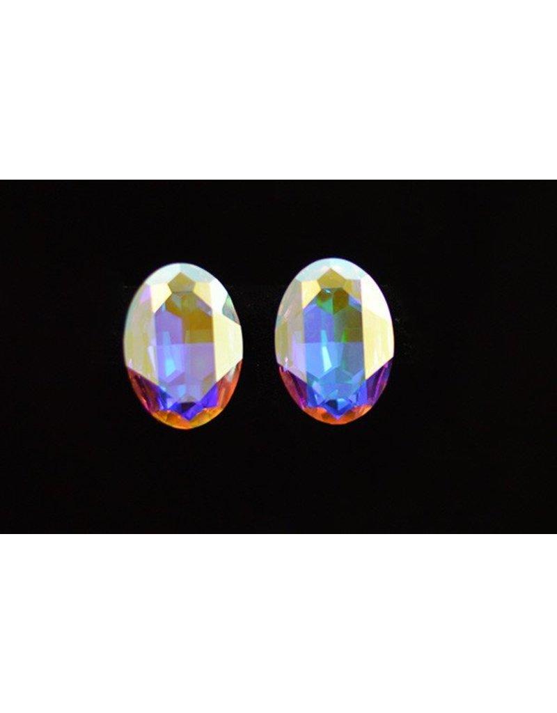 Crystal AB Ovals