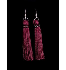 Marroon Tassel