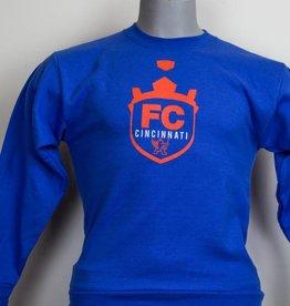 Crest Crewneck Sweatshirt-Youth