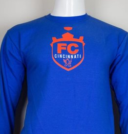 Crest Long Sleeve Tee-Youth