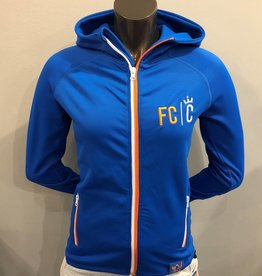 FCC Women's Power Stretch Hooded Jacket