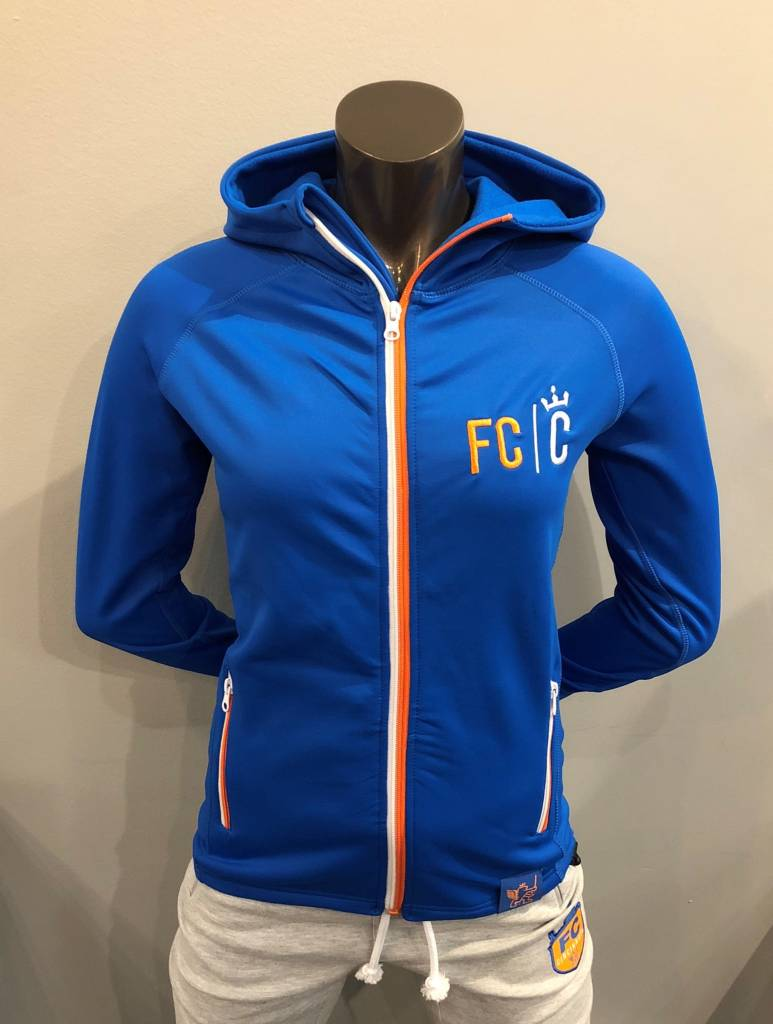 FCC Women's Power Stretch Hooded Jacket