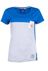 FCC Women's Color Block Pocket Tee