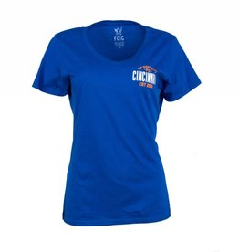FCC Women's Queen City V-neck -More Colors Available