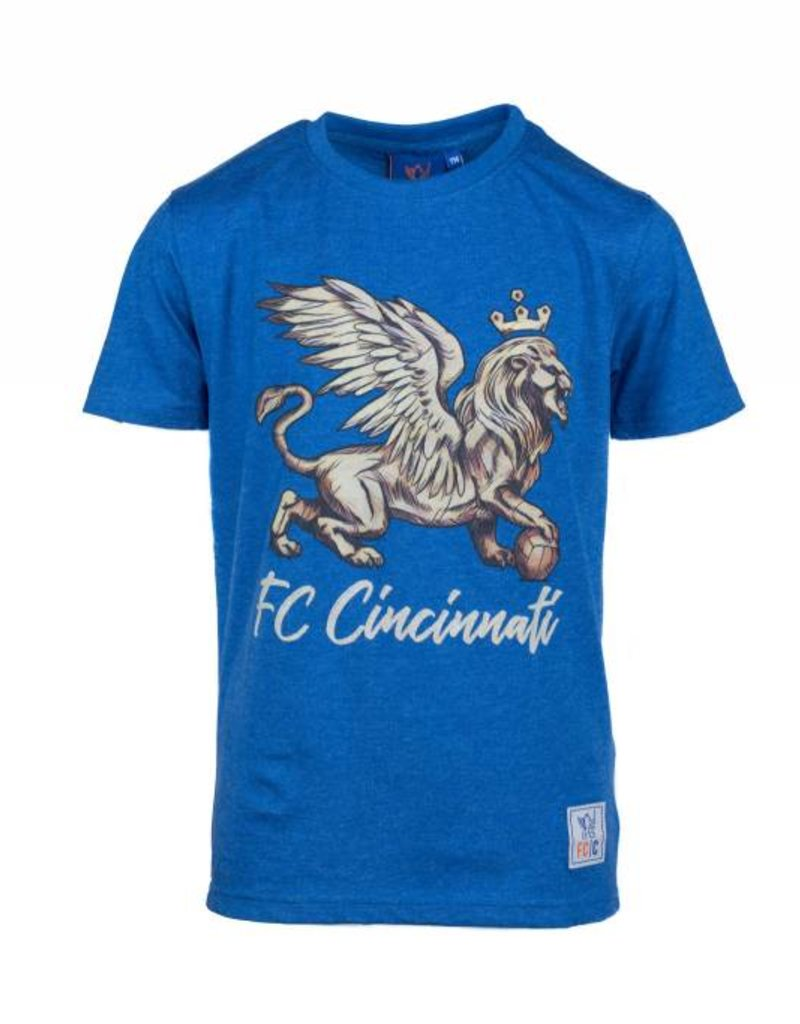 FCC Graphic Lion Tee- Youth
