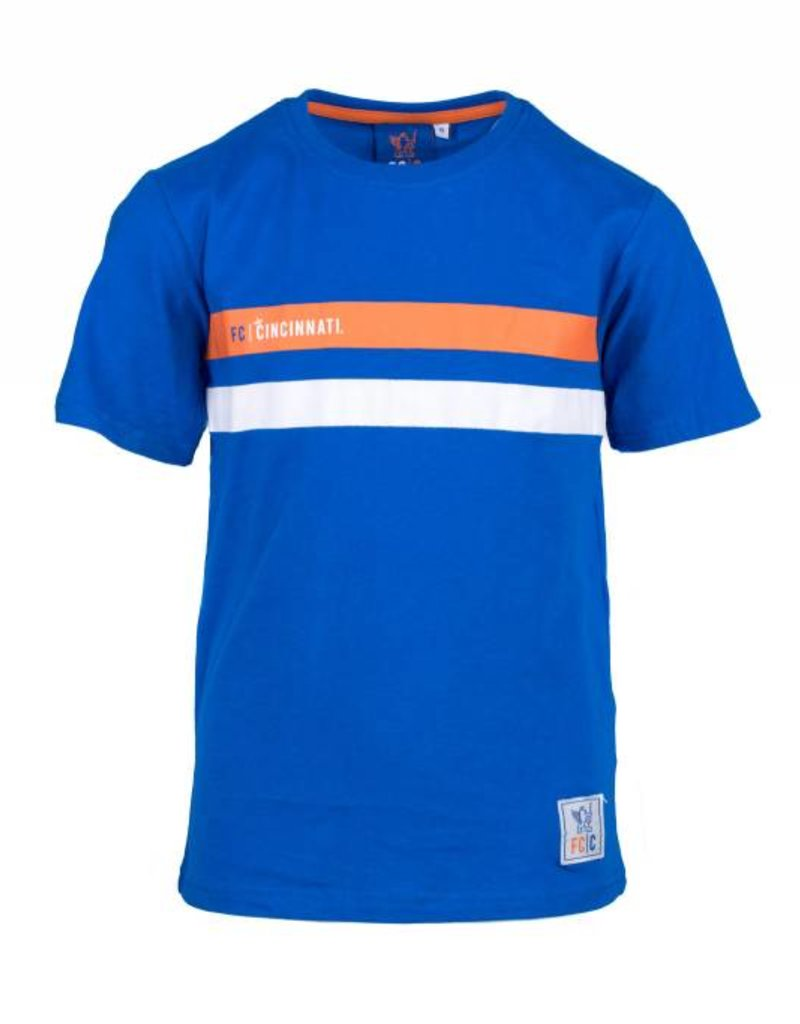 FCC Dual Stripe Tee- Youth