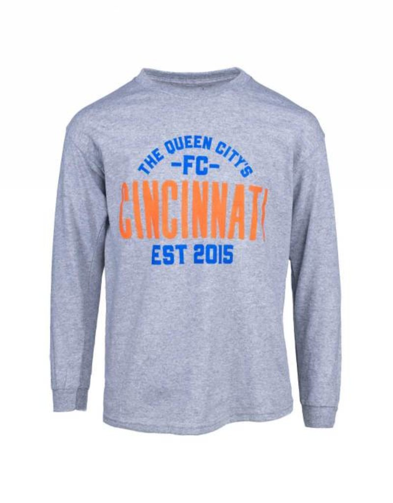 FCC Queen City Long Sleeve- Youth