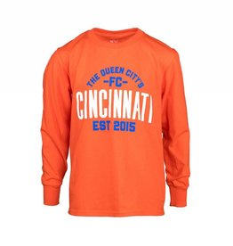 FCC Queen City Long Sleeve- Youth -More Colors Available