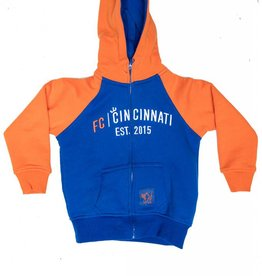 FCC FC Cincinnati Full Zip Hoody- Toddler