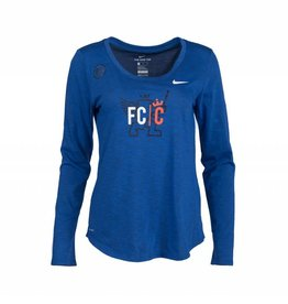 Nike Women's Long Sleeve Slub Tee