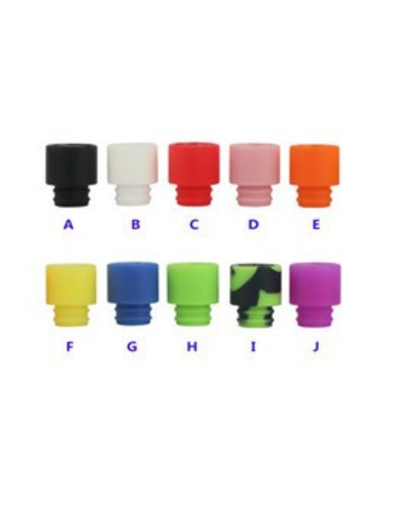 Wide 510 Silicone Drip Tip