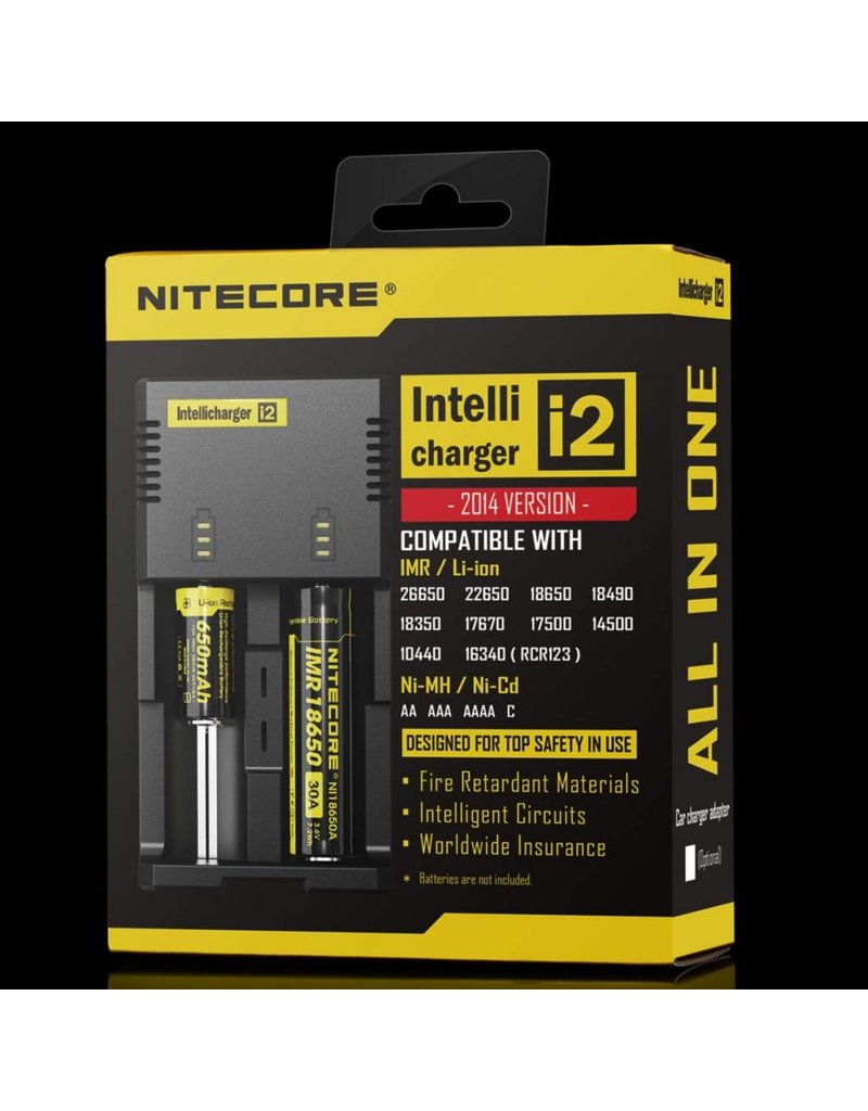 Nitecore Nitecore i2 Intellicharger 2 Bay