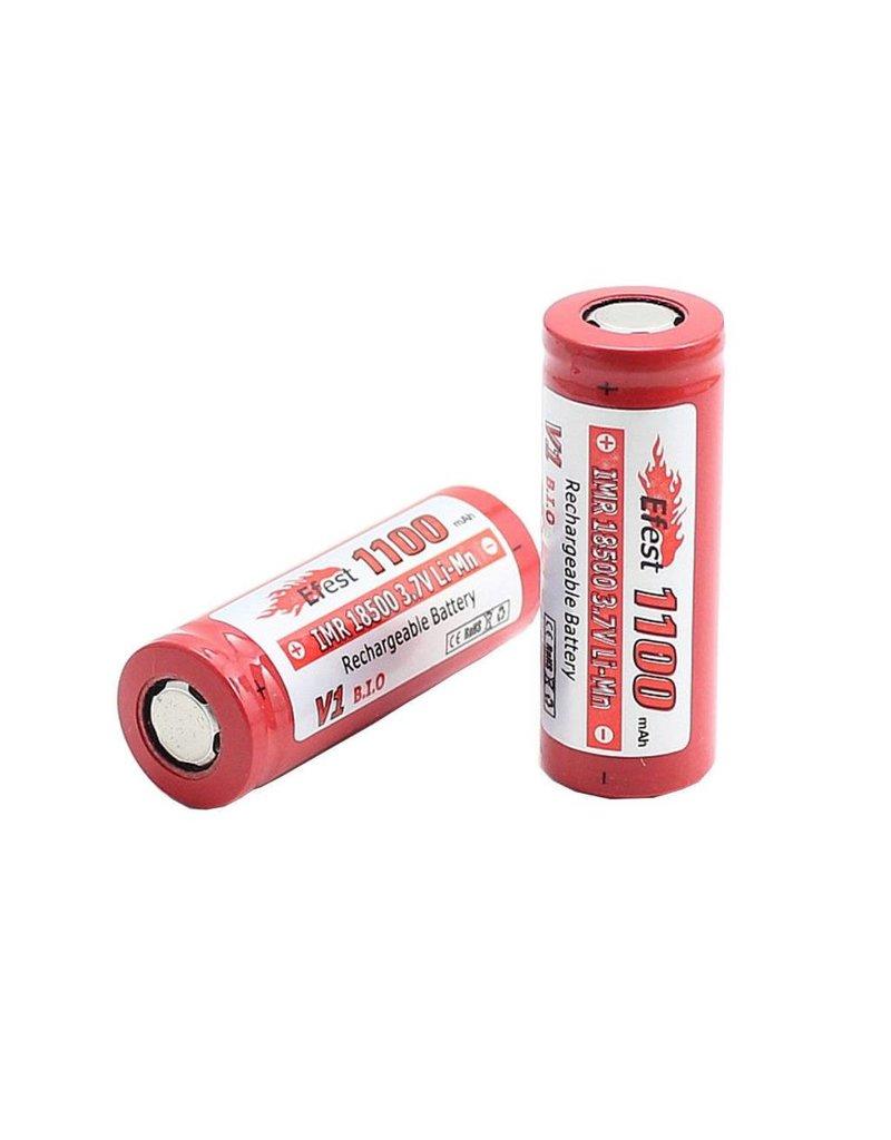 Efest Efest 1100Mah 18500 V1 Flat Top Battery