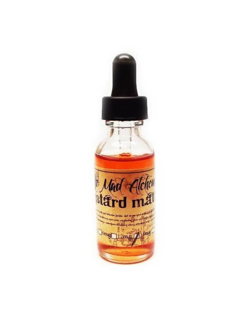 The Mad Alchemist The Mad Alchemist - Custard Matter -30ML