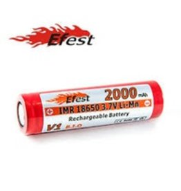 Efest Efest 2000Mah 18650 V1 Flat Top Battery