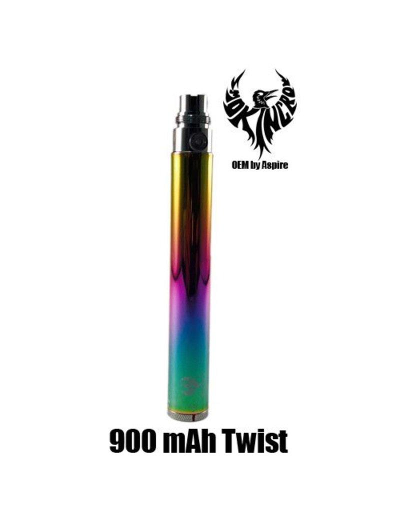 Smokin Crow Smokin Crow Regulator - EGO Twist - 900 mAh - Rainbow