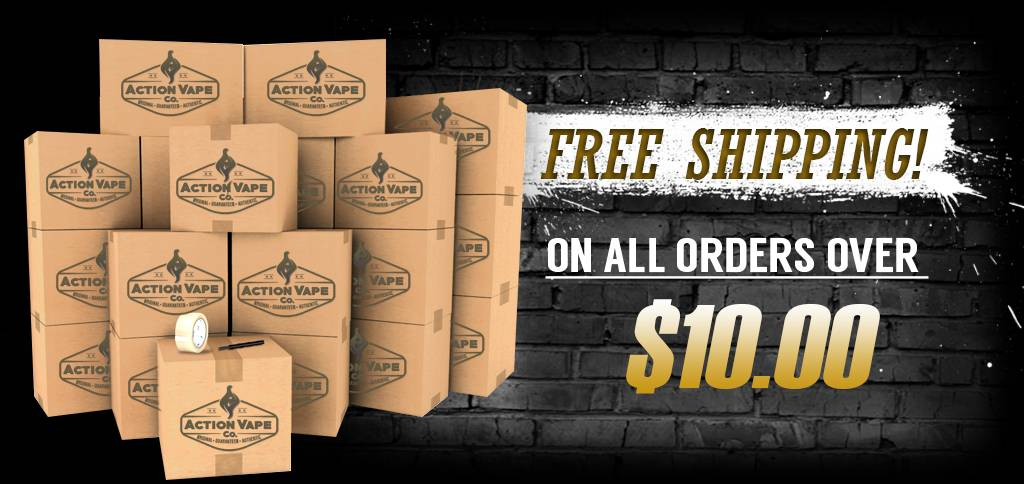 Free Shipping on all order over $10.00!
