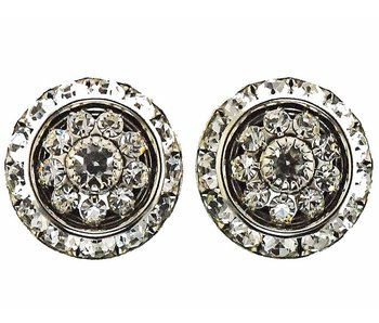 Large Rhondelle Crystal Show Earrings