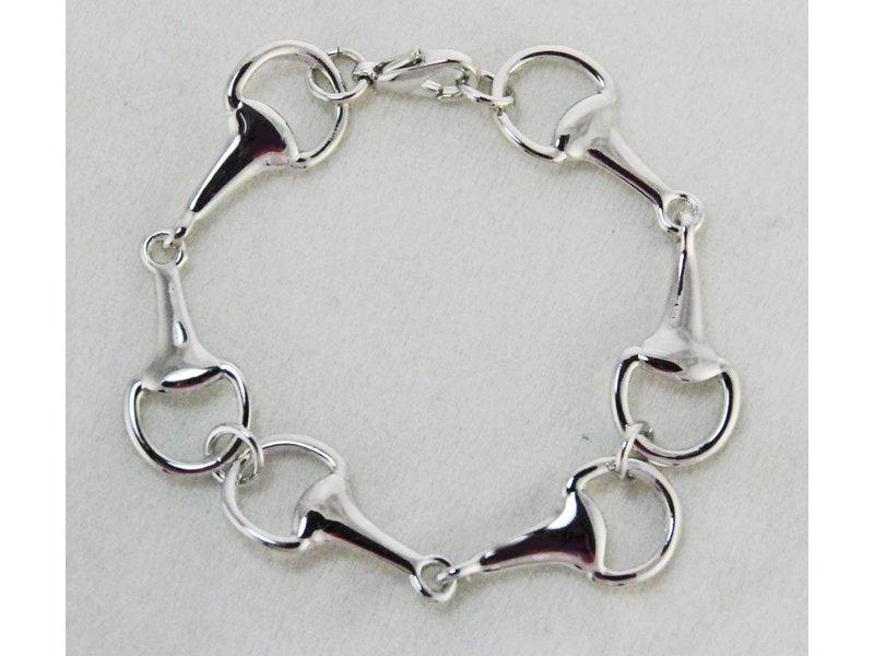 Finishing Touch of Kentucky Snaffle Bit Link Bracelet