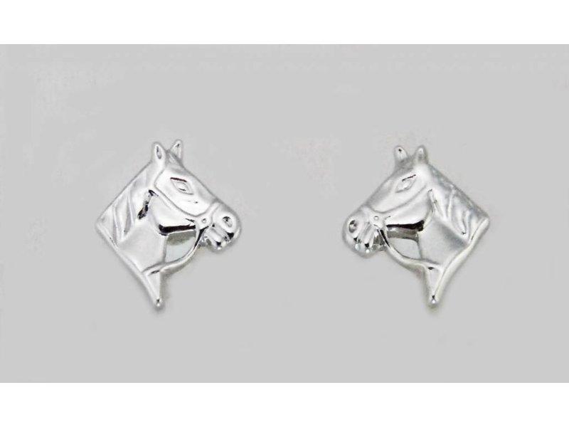 Finishing Touch of Kentucky Horse Head w/ Reins Earrings
