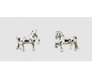 Saddlebred 3D Earrings