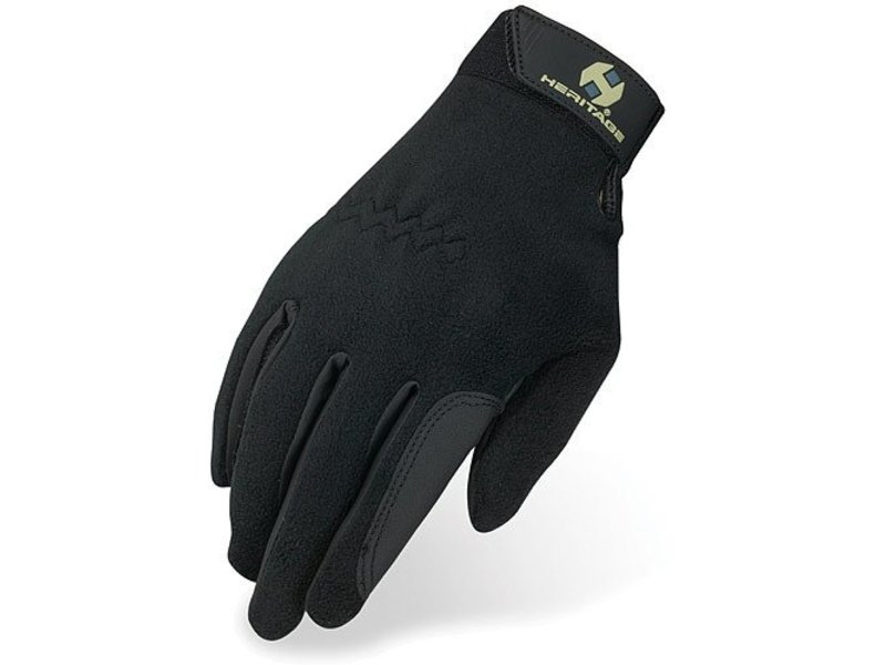 Heritage Performance Riding Gloves Performance Fleece Riding Glove