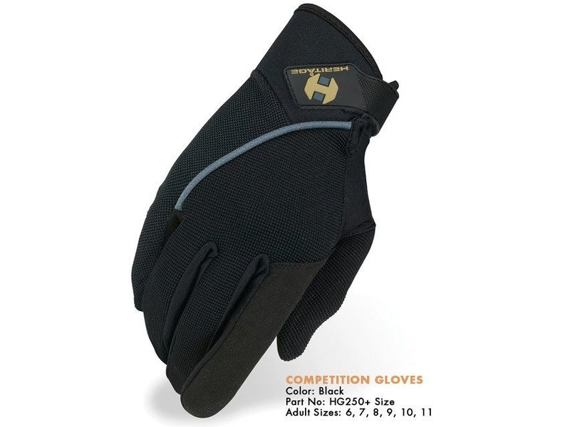 Heritage Performance Riding Gloves Competition Glove
