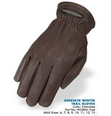 Heritage Performance Riding Gloves Deerskin Winter Trail Glove