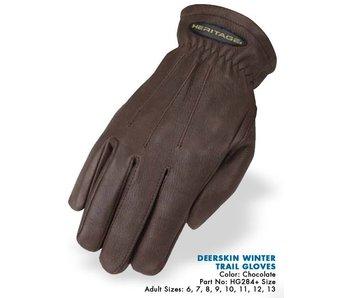 Deerskin Winter Trail Glove