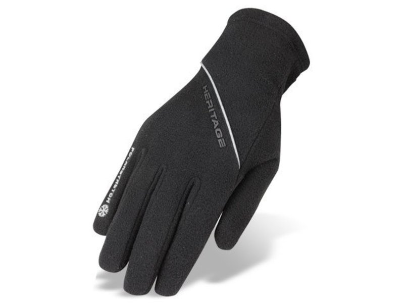 Heritage Performance Riding Gloves Polarstretch Fleece Riding Glove