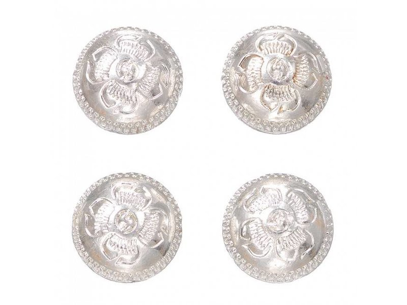 Tough-1 Number Magnets Silver Concho