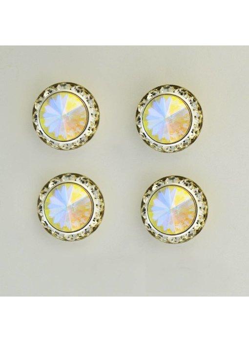 Aurora Borealis Magnetic Number Pins