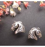 Wyo-Horse Sterling Silver Arabian Horse Head Earrings