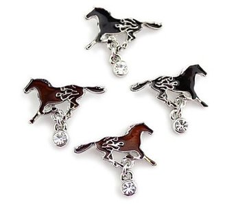 Fire Horse Earrings