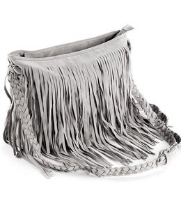Virginia Wolf Fringe Bags Grey OS