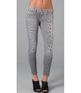 Current Elliott Stiletto Grey Leopard